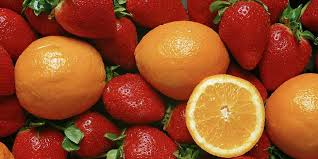 Frutas con vitamina C para el herpes